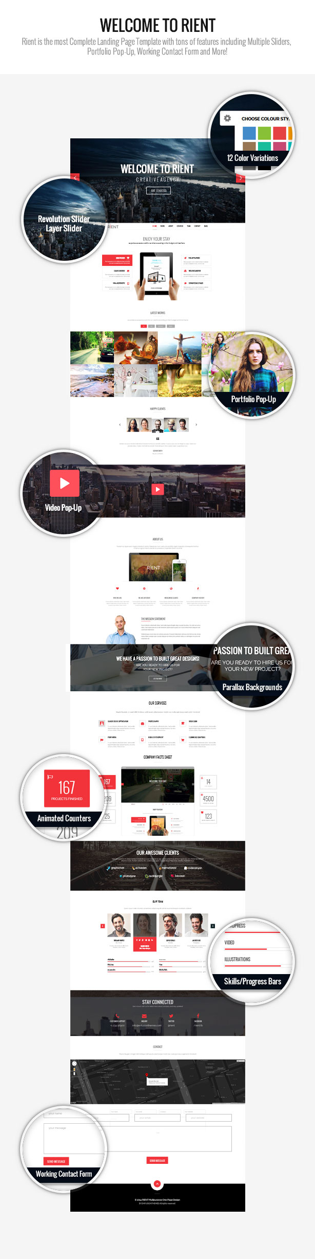 WordPress theme Rient | Multi-Purpose WordPress Theme (WordPress)
